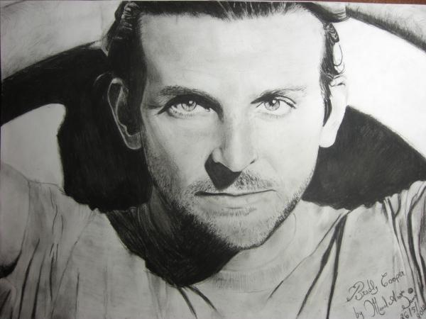 Bradley Cooper by manal